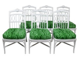 Image of Ficks Reed Dining Chairs