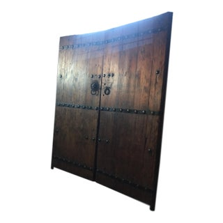 Antique Chinese Doors- a Pair For Sale