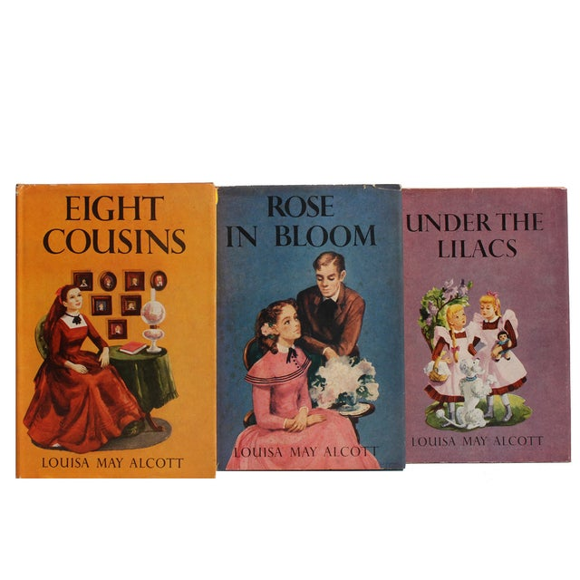 Louisa May Alcott Vintage Books - Set of 6 - Image 2 of 2