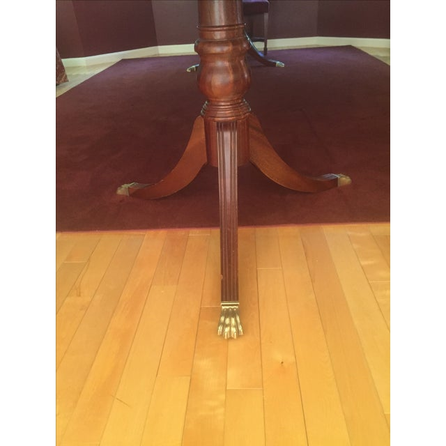 Ethan Allen 18th Century Mahogany Table - Image 3 of 3