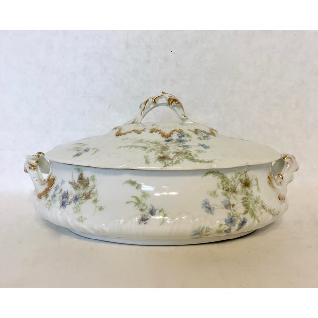 Antique Haviland Limoges Covered Serving Dish - Image 3 of 5