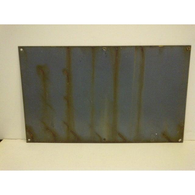 """Vintage Porcelain Sign """"Danger High Voltage Keep Away"""" - Image 6 of 6"""