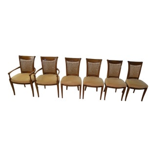 Drexel Heritage Caned Backed Dining Chairs - Set of 6