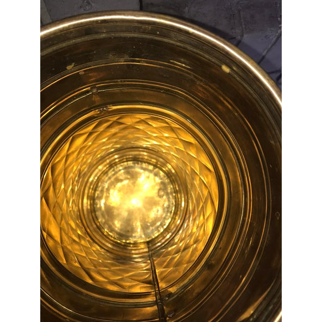 Brass O Rings Umbrella Holder Stand For Sale - Image 4 of 5