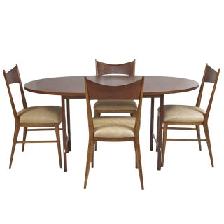 Paul McCobb for Calvin Dining Room Table and Chairs For Sale