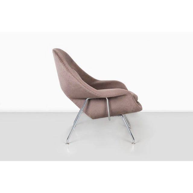 Taupe Knoll Womb Chair - Medium For Sale - Image 8 of 12