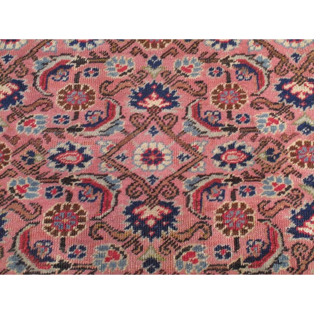 Pink Kayseri Carpet For Sale In New York - Image 6 of 6
