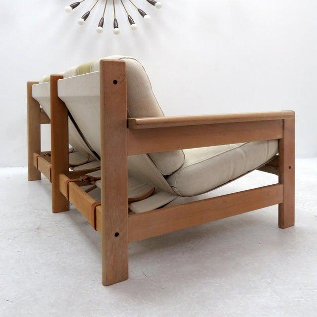 Bernt Petersen 1970's Vintage Bernt Petersen Loveseat Sofa For Sale - Image 4 of 12