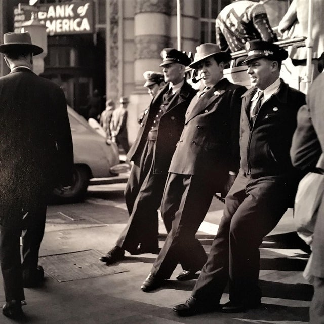 Photorealism Vintage B&W Photo of Old San Francisco by Fred Lyon For Sale - Image 3 of 4