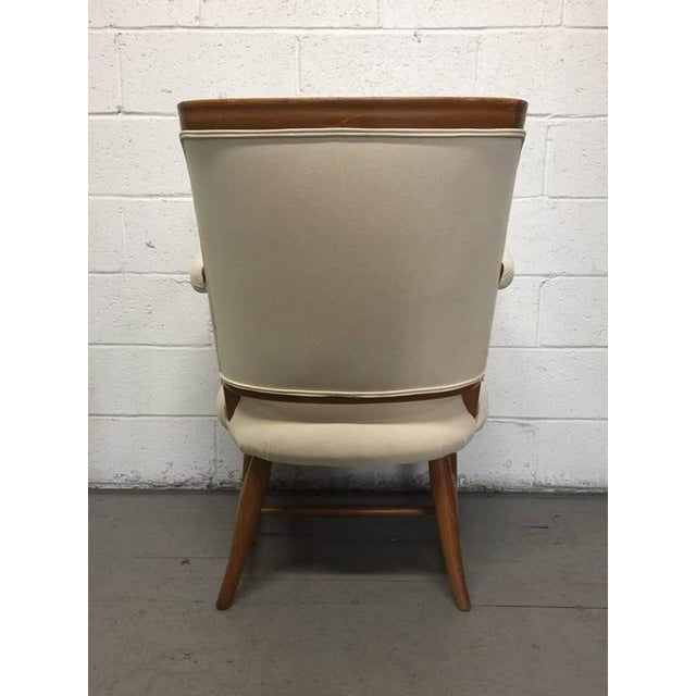 Pair of 1950s French Country Armchairs For Sale - Image 4 of 8