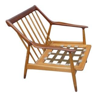 1950's Vintage Jason Ringsted Danish Modern Rosewood & Teak Armchair