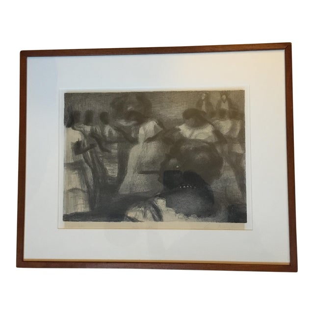 "Lewis Rubenstein (American, 1908-2003) ""Macumba"" Lithograph For Sale"