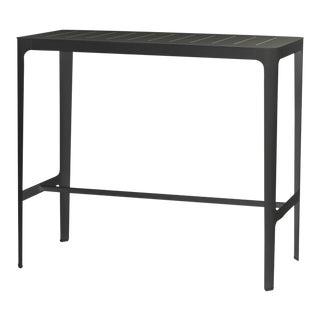 Cane-Line Cut Bar Table, Aluminum For Sale