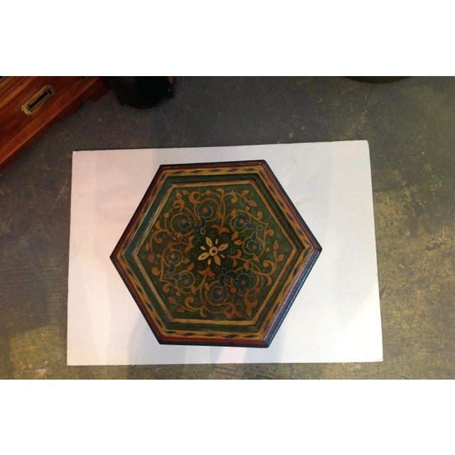 1960s Petite Moroccan Tabouret For Sale - Image 5 of 12