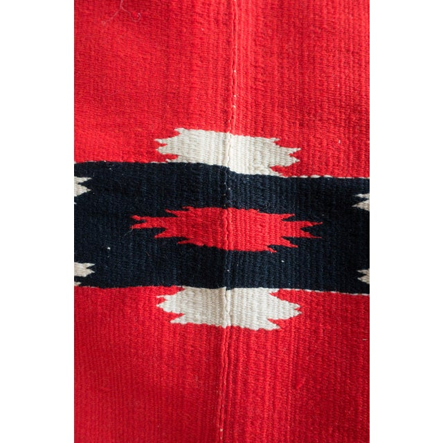 Antique Navajo Style Blanket For Sale - Image 11 of 12