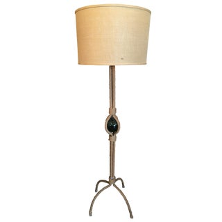 Vintage French Rope Floor Lamp For Sale
