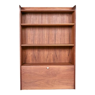 Drexel Floating Wall Cabinet Desk by Kipp Stewart For Sale