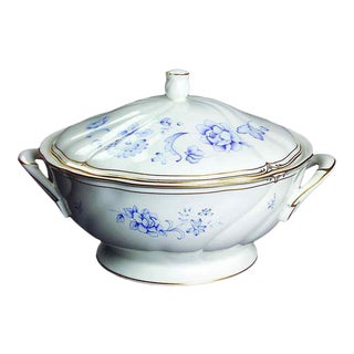 Ashbury Wedgwood Bone China Round Covered Vegetable Server Made in England For Sale