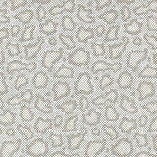 Schumacher X Mary McDonald Park Avenue Python Wallpaper in Dove For Sale