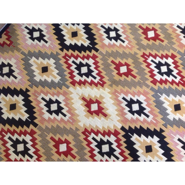 Reversible Kilim Inspired Rug - 3′11″ × 5′11″ - Image 8 of 11