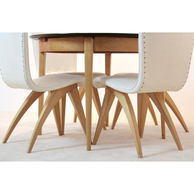 C.J. van OS Culemborg Dutch Birch Dining Set - Image 10 of 11