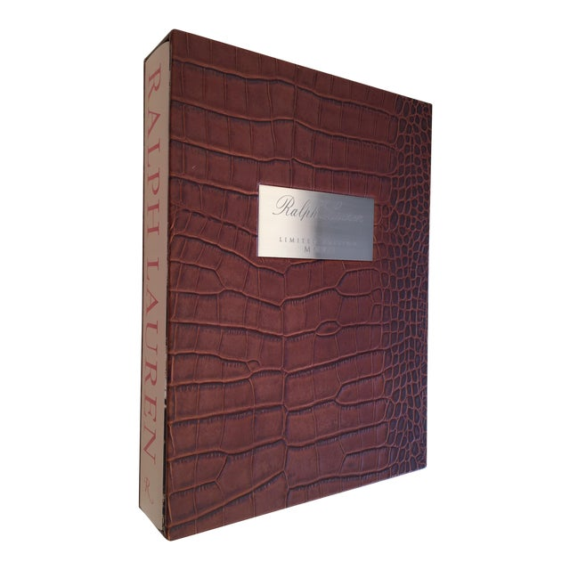 Ralph lauren limited edition signed book leather | #415608942.