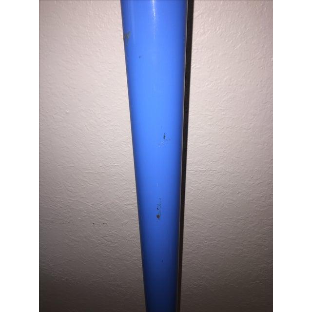 Metal Vintage Memphis Style Halogen & Neon Floor Lamp For Sale - Image 7 of 10