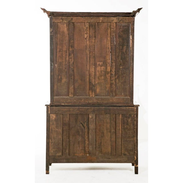 Early 19th century French Oak Cabinet For Sale - Image 4 of 8