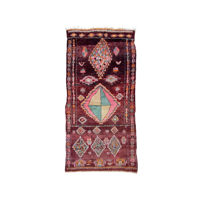 Moroccan Boujad Rug - 5′9″ × 11′8″ For Sale - Image 12 of 12