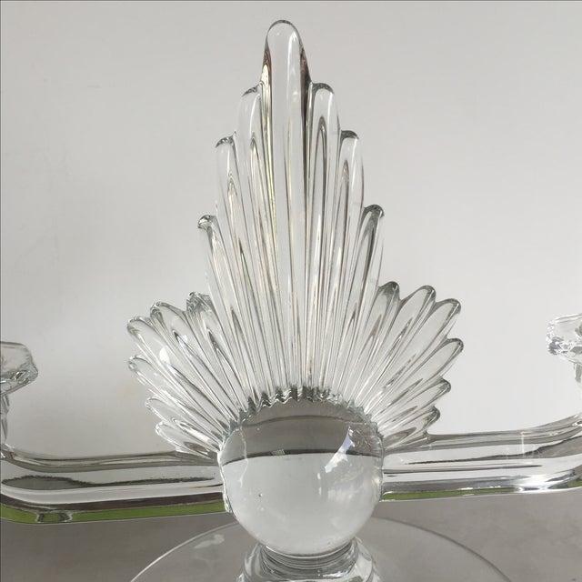 Fostoria Art Deco Candlestick - Image 4 of 4