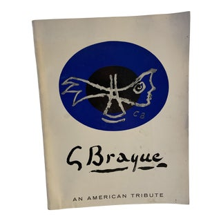 1964 Georges Braque an American Tribute Book For Sale