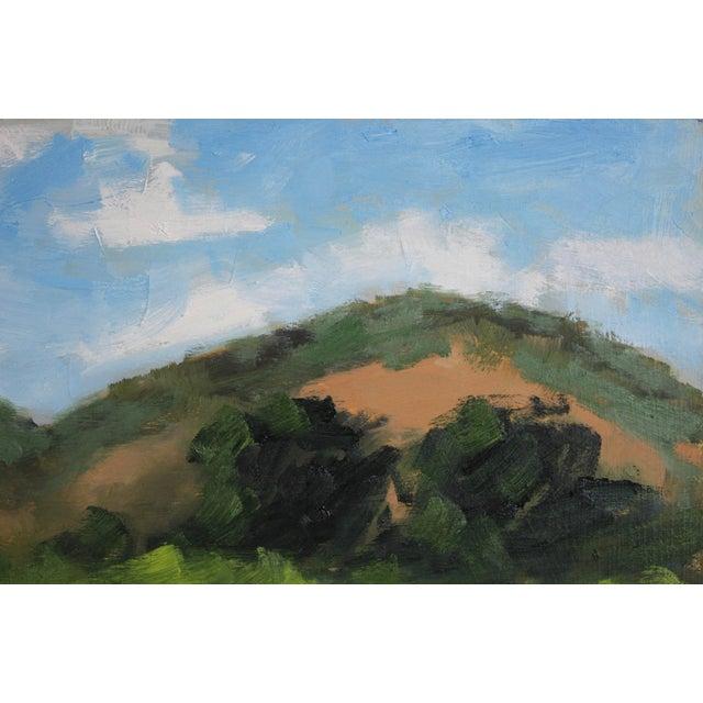 2020s Original Oil Painting Landscape Plein Air, Sonoma Vines For Sale - Image 5 of 12