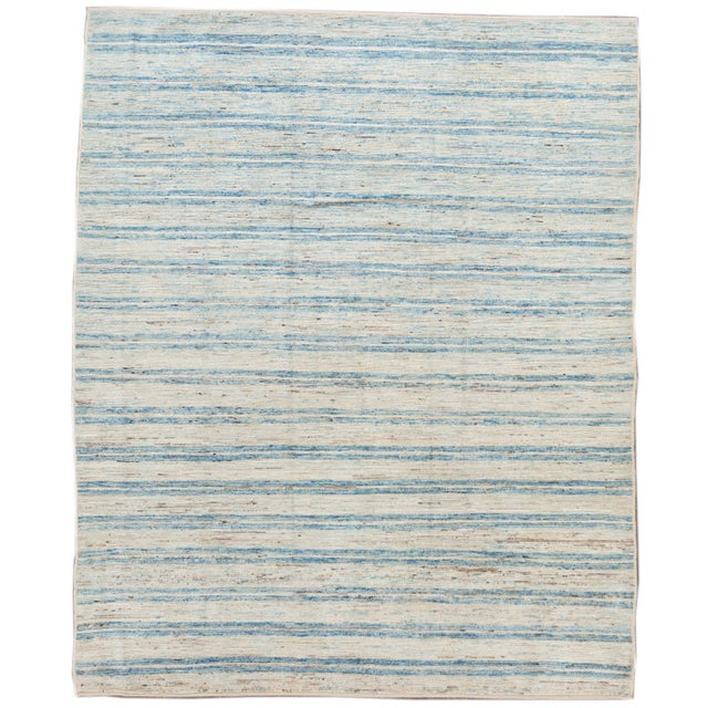 """21st Century Modern Moroccan-Style Rug, 8'0"""" X 9'10"""" For Sale - Image 11 of 11"""