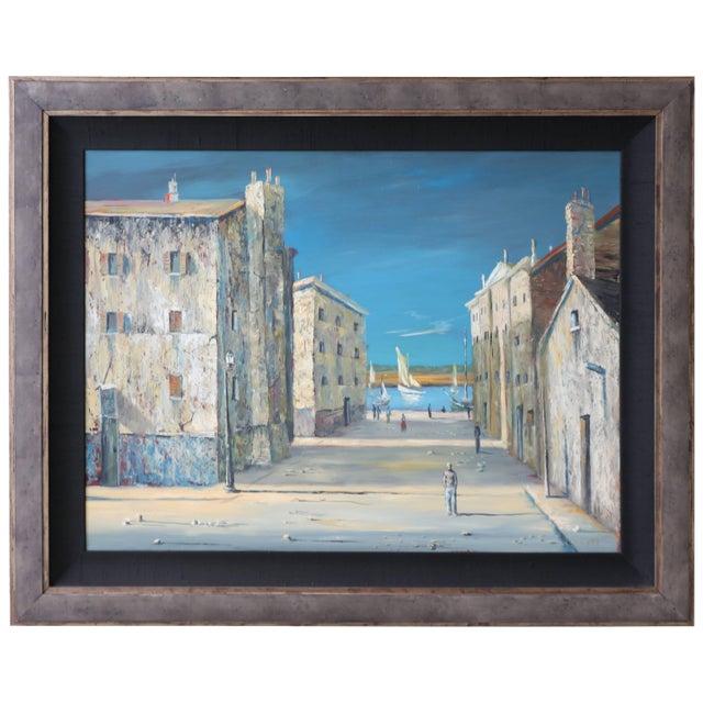 Italian Scene Painting Signed Donati For Sale - Image 9 of 9