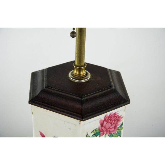 1960s Chinoiserie Ginger Jar Table Lamp For Sale - Image 5 of 13