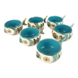 Image of Rare Bitossi Fish Cups, S/6 For Sale