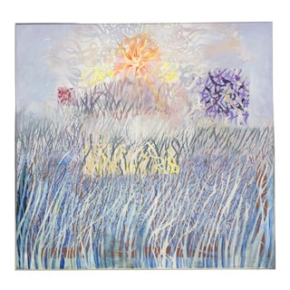 Pastel Abstract Landscape Painting
