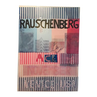 Acrylic Framed Rauschenberg Gallery Poster For Sale