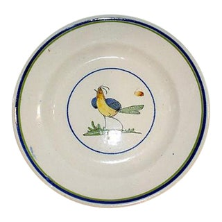 French Faience Ironstone Bowl For Sale