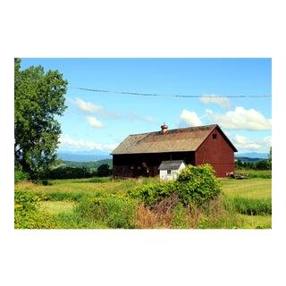 """Vermont Barn"" Photograph by Josh Moulton"