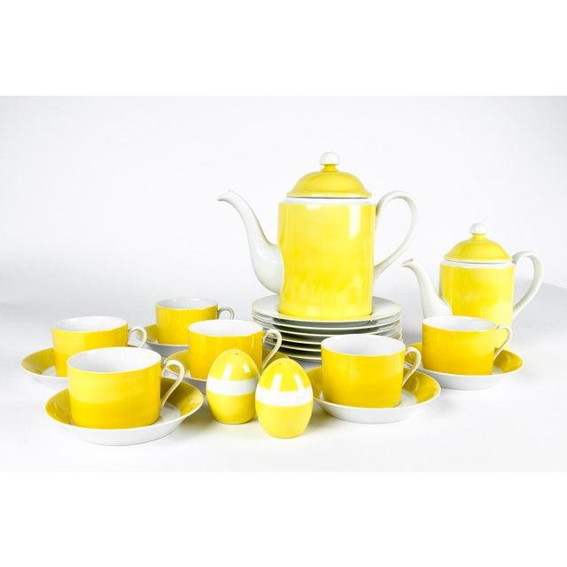 Vintage Lemon Porcelain Luncheon Service - Image 10 of 11