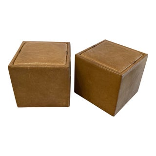Room & Board Storage Ottomans - a Pair For Sale