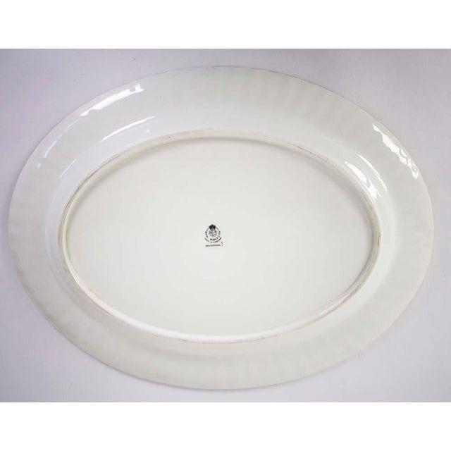 Royal Worcester Vintage Royal Worchester Bacchanal Pattern Large Serving Platter For Sale - Image 4 of 5