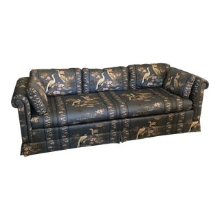 1960s Vintage Drexel Chinoiserie Sofa For Sale