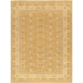 Pasargad's Khotan Wool Area Rug - 8' X 10' For Sale