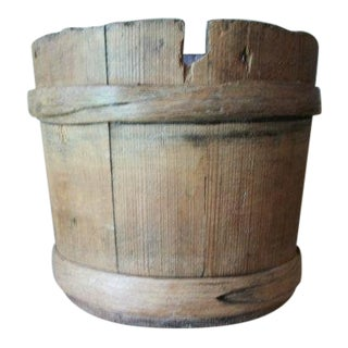 Antique Amish Water Bucket For Sale