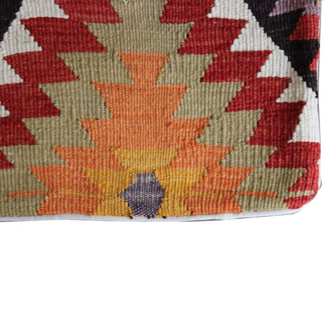 Vintage 1960s Turkish Kilim Pillow Cover - Image 5 of 5