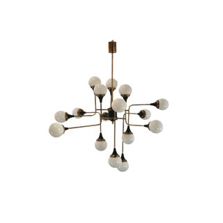 6th Century Style Chandelier in 16 Lights For Sale