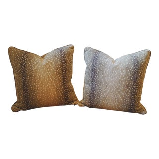 Lee Industries Double Sided Antelope Pillows - A Pair