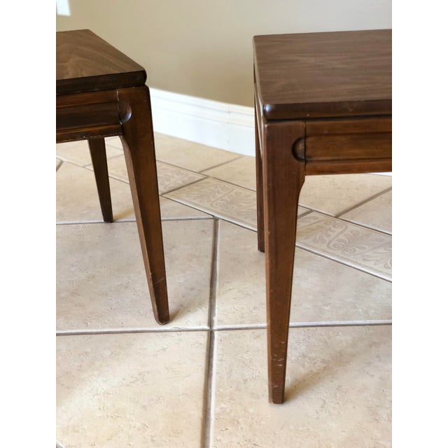 1960s Mid-Century Modern Mersman Side Tables - a Pair For Sale In Detroit - Image 6 of 9